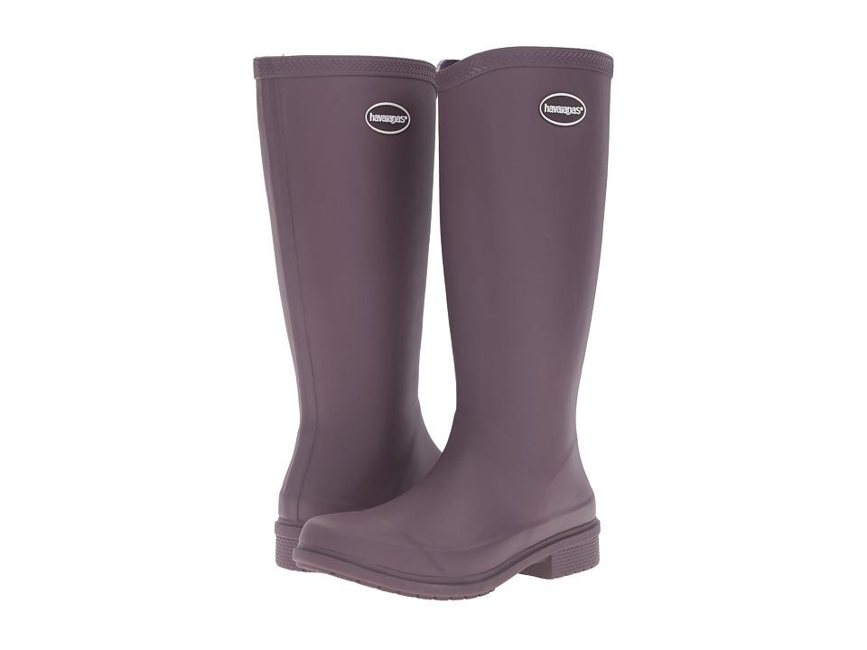 Havaianas - Galochas Hi Matte Rain Boot (Purple) Women's Rain Boots
