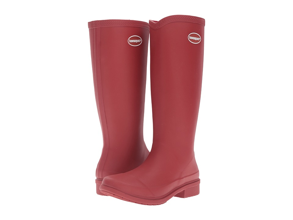Havaianas Galochas Hi Matte Rain Boot (Ruby Red) Women