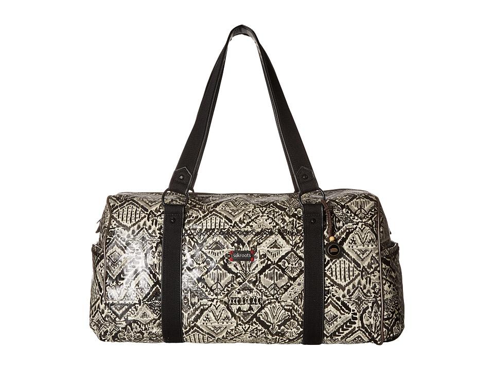 Sakroots - Artist Circle Xl Duffel (Jet Brave Beauti) Duffel Bags