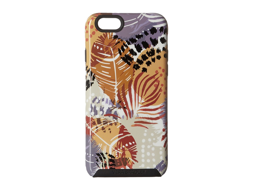 Vera Bradley - Hybrid Case for iPhone 6/6s (Painted Feathers) Cell Phone Case