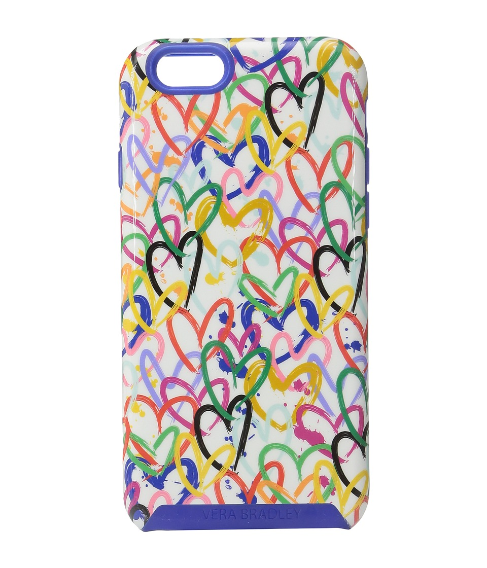Vera Bradley - Hybrid Case for iPhone 6/6s (Art Hearts) Cell Phone Case