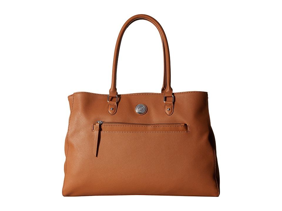 Tommy Hilfiger - Zara II - Tote (Cognac) Tote Handbags