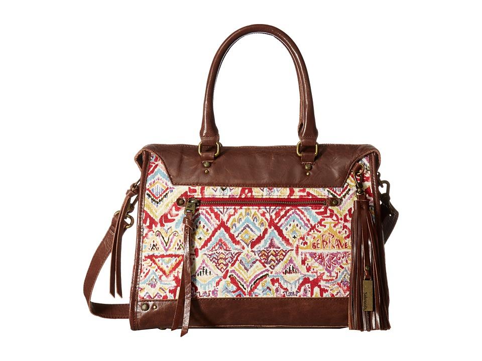 Sakroots - Artist Circle Seni Satchel (Sweet Red Brave Beauti) Satchel Handbags