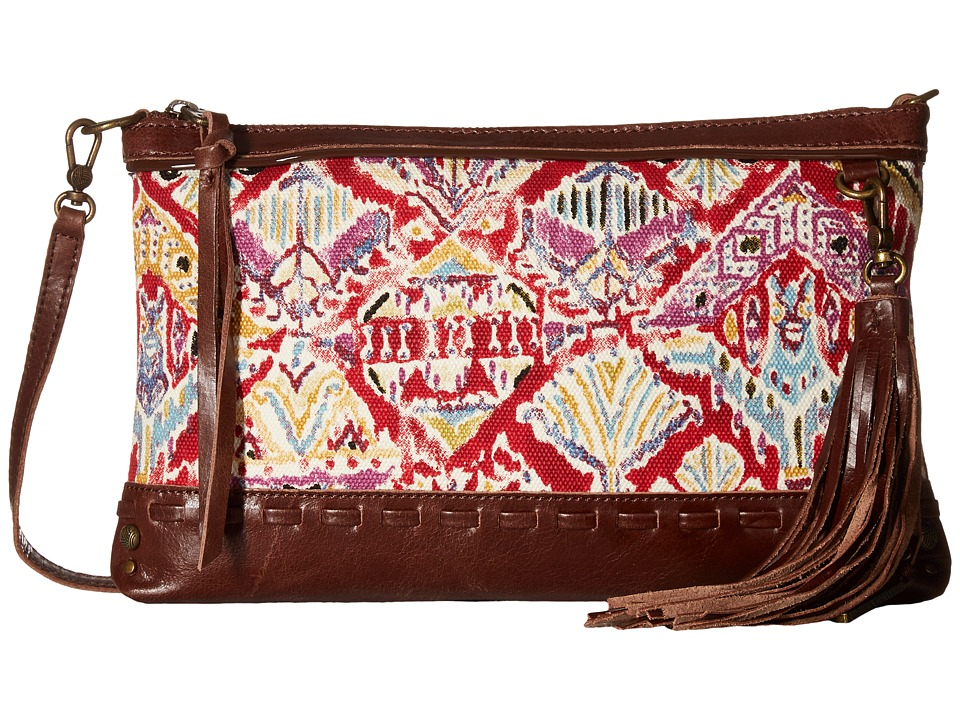 Sakroots - Artist Circle Seni Clutch (Sweet Red Brave Beauti) Clutch Handbags