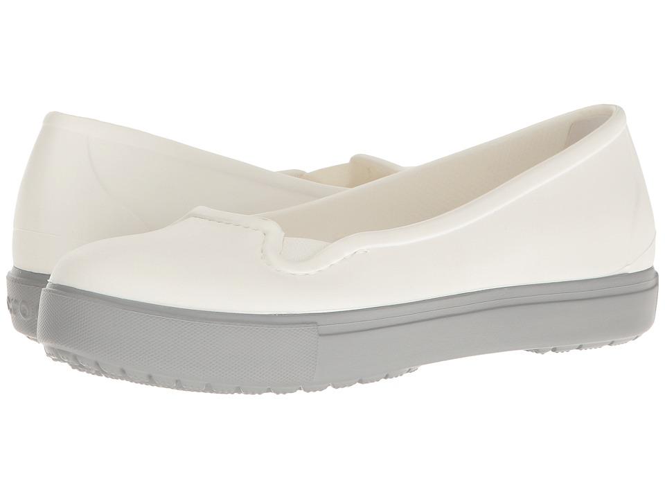 Crocs CitiLane Flat (White) Women