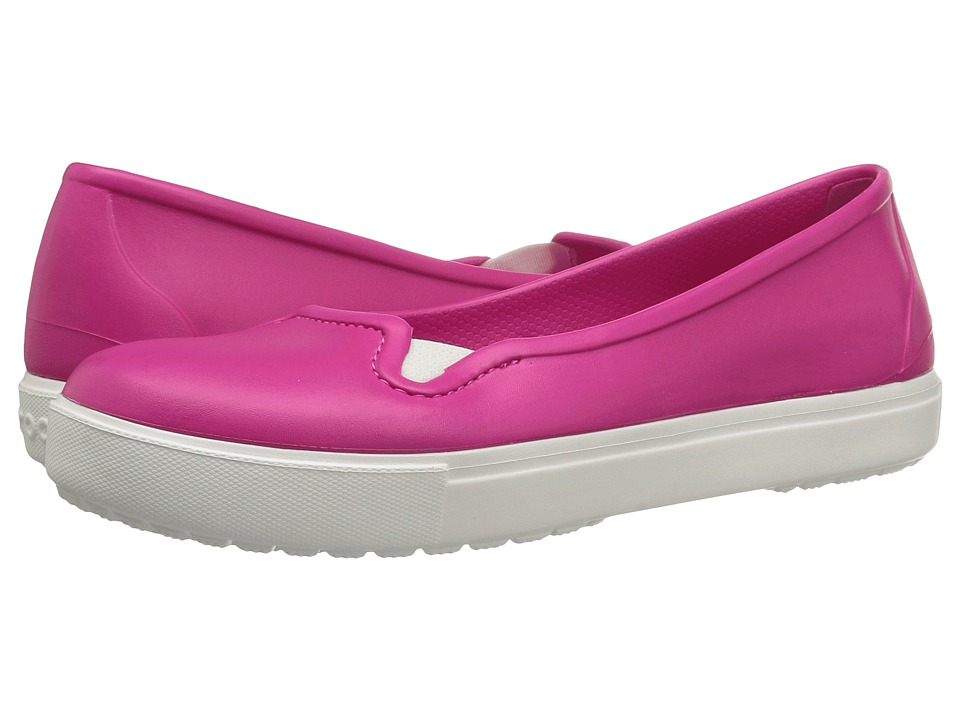Crocs - CitiLane Flat (Candy Pink) Women's Flat Shoes