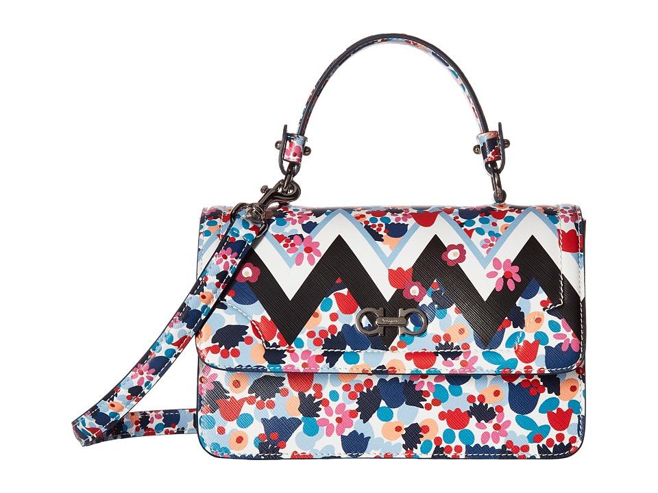 Salvatore Ferragamo - Seila 21F966 (Camp/Grandi Multicolor) Handbags