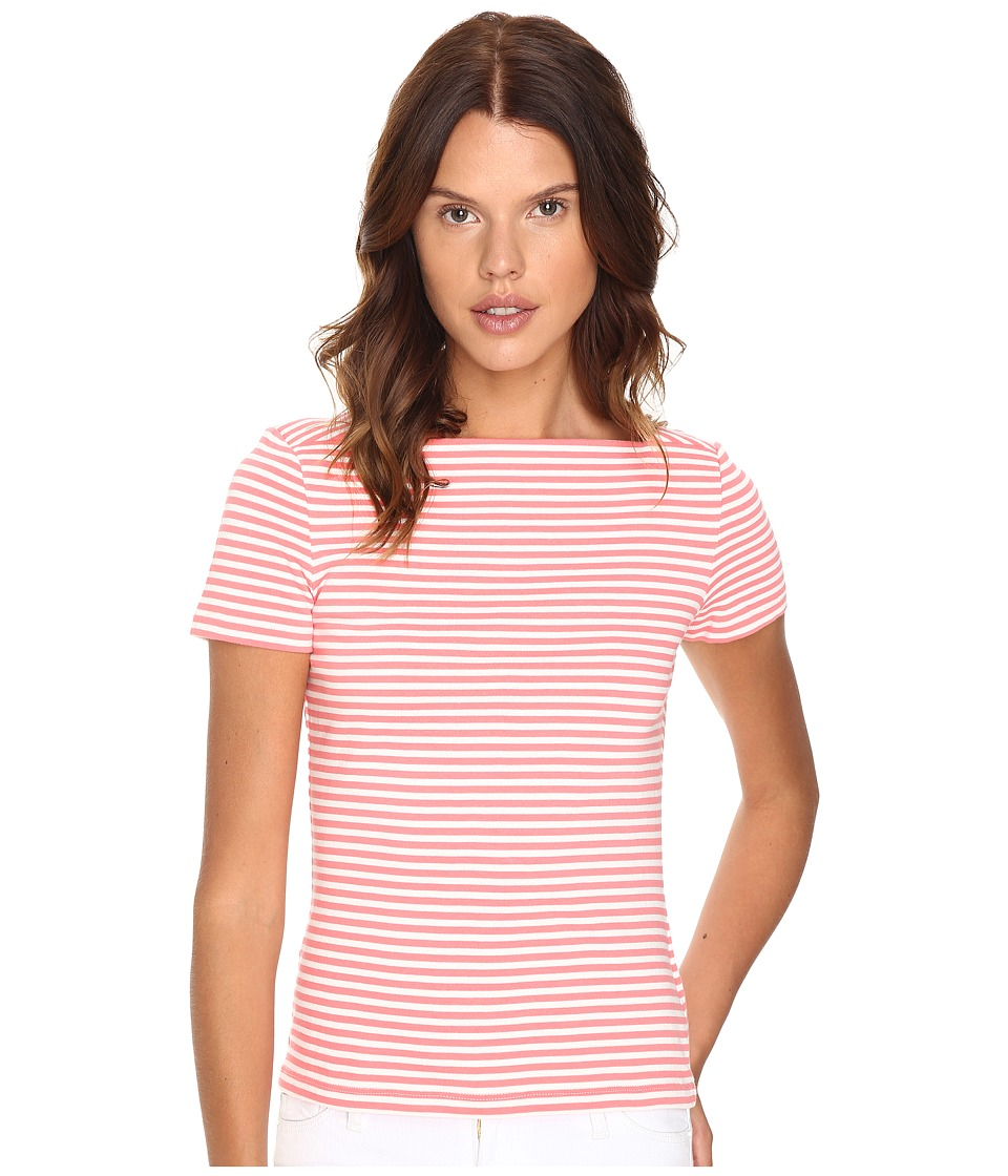 Kate Spade New York - Stripe Everyday Tee (Surpscoral) Women's T Shirt