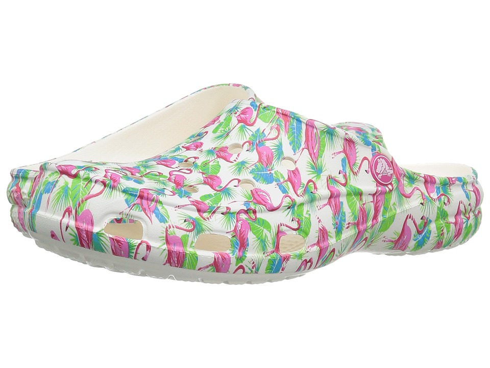 Crocs - Freesail Summer Fun Clog (Flamingo) Women's Clog/Mule Shoes