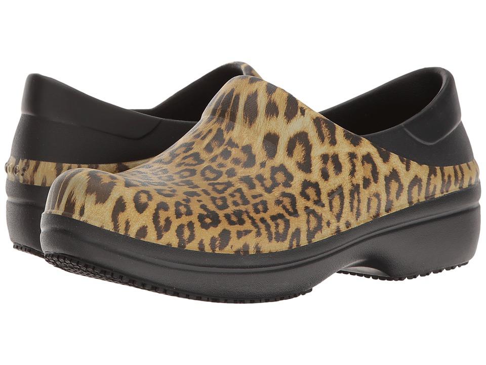 Crocs - Neria Pro Graphic Clog (Black) Women's Clog/Mule Shoes