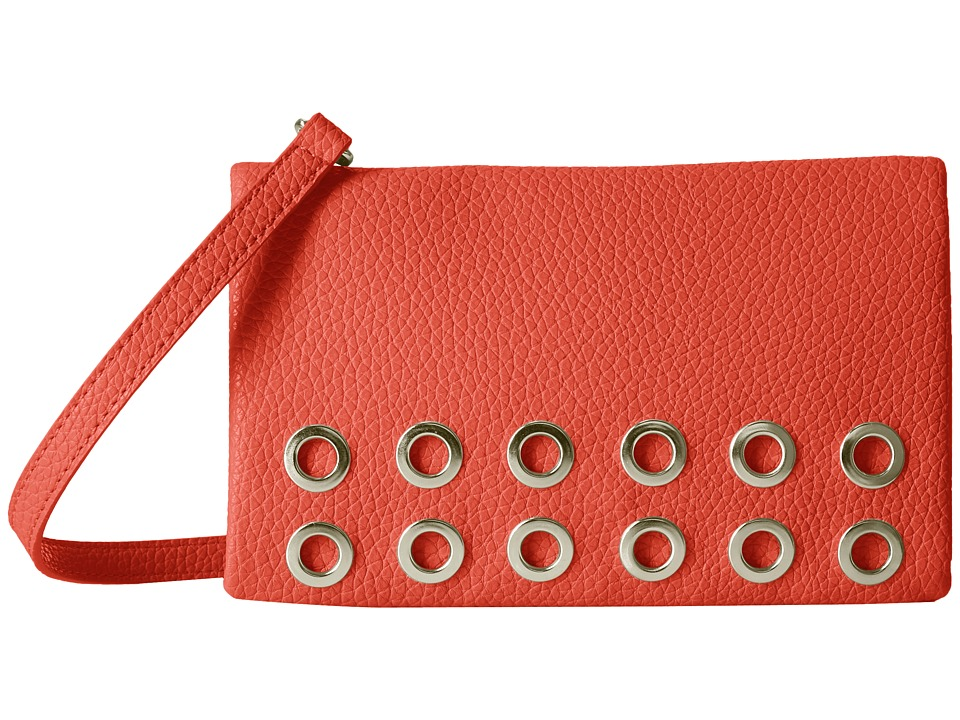Nine West - Fold-Over Crossbody (Bright Poppy) Cross Body Handbags