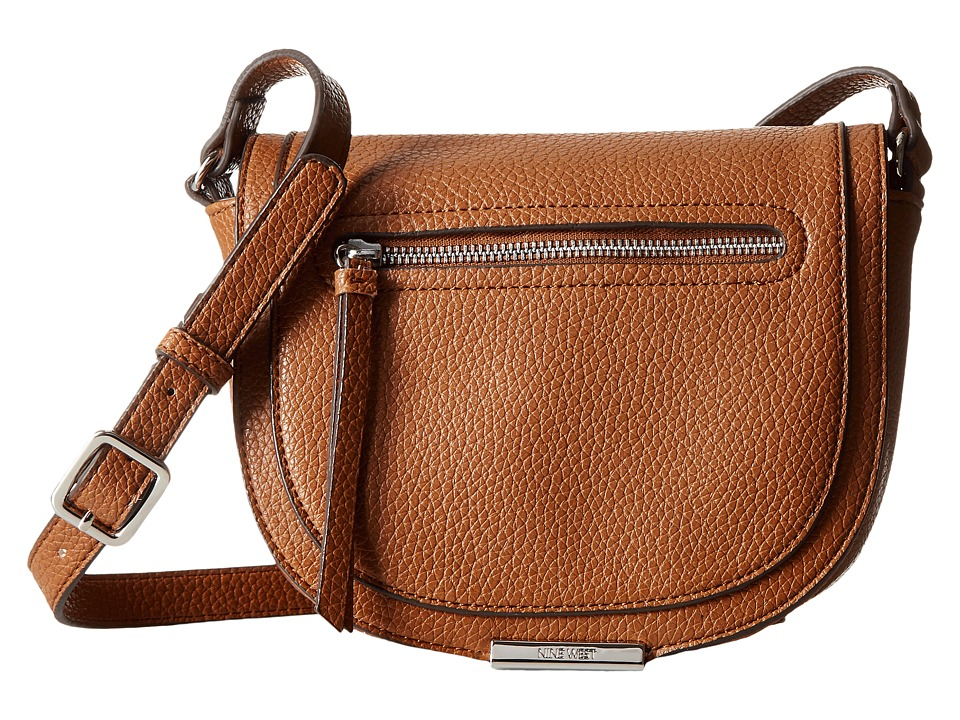Nine West - Dima Crossbody (Tobacco) Cross Body Handbags