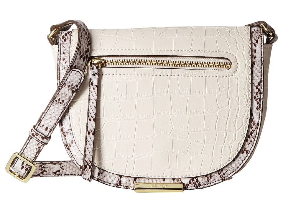 Nine West - Dima Crossbody (Milk/White Multi) Cross Body Handbags