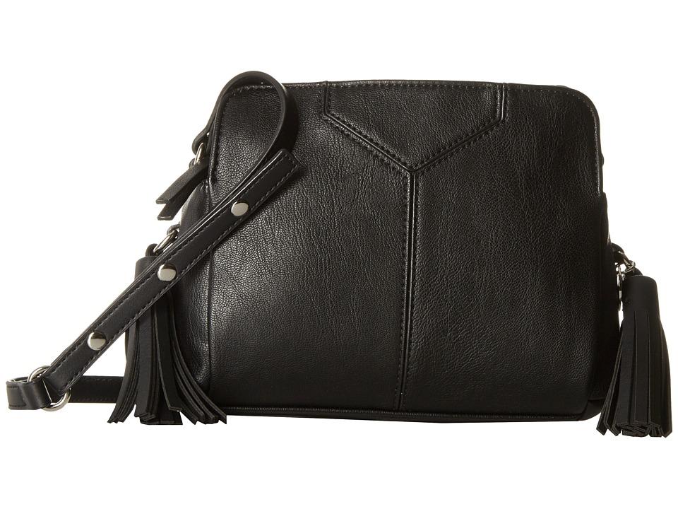 Nine West - Tasseled and Tied Crossbody (Black) Cross Body Handbags