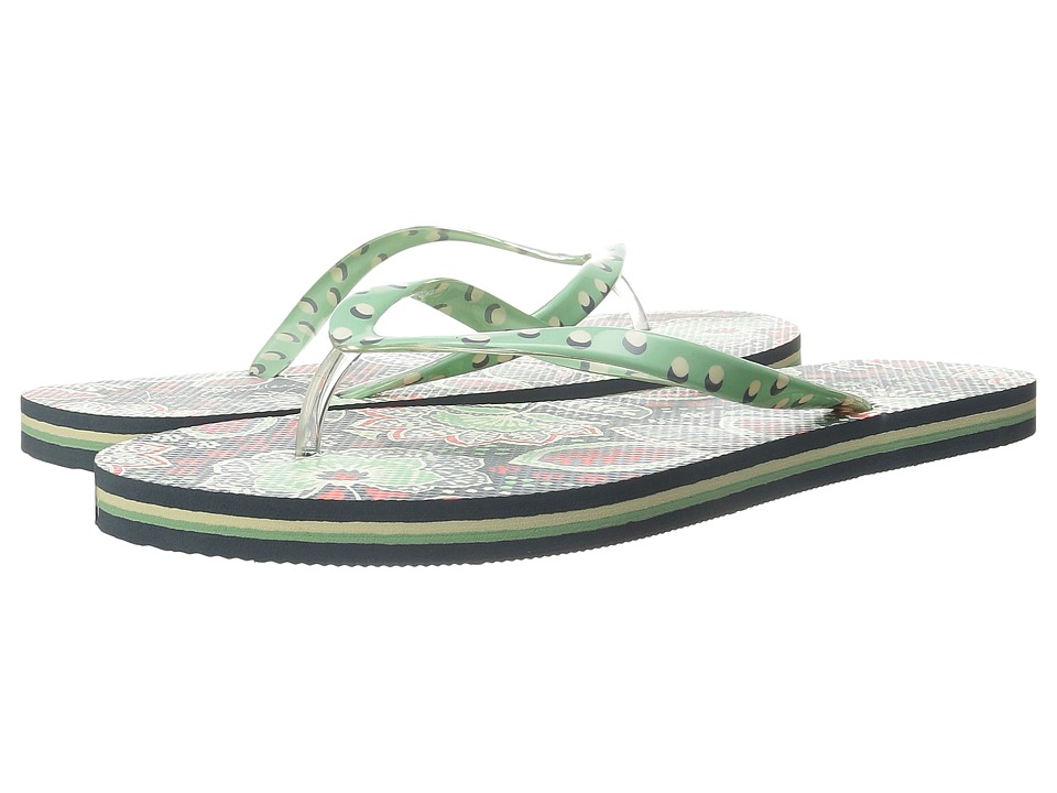 Vera Bradley - Flip Flops (Nomadic Floral) Women's Slippers