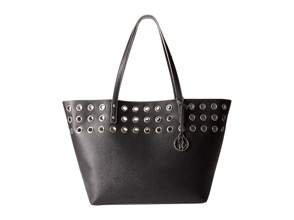 Nine West - Darya Tote (Black/Elm) Tote Handbags
