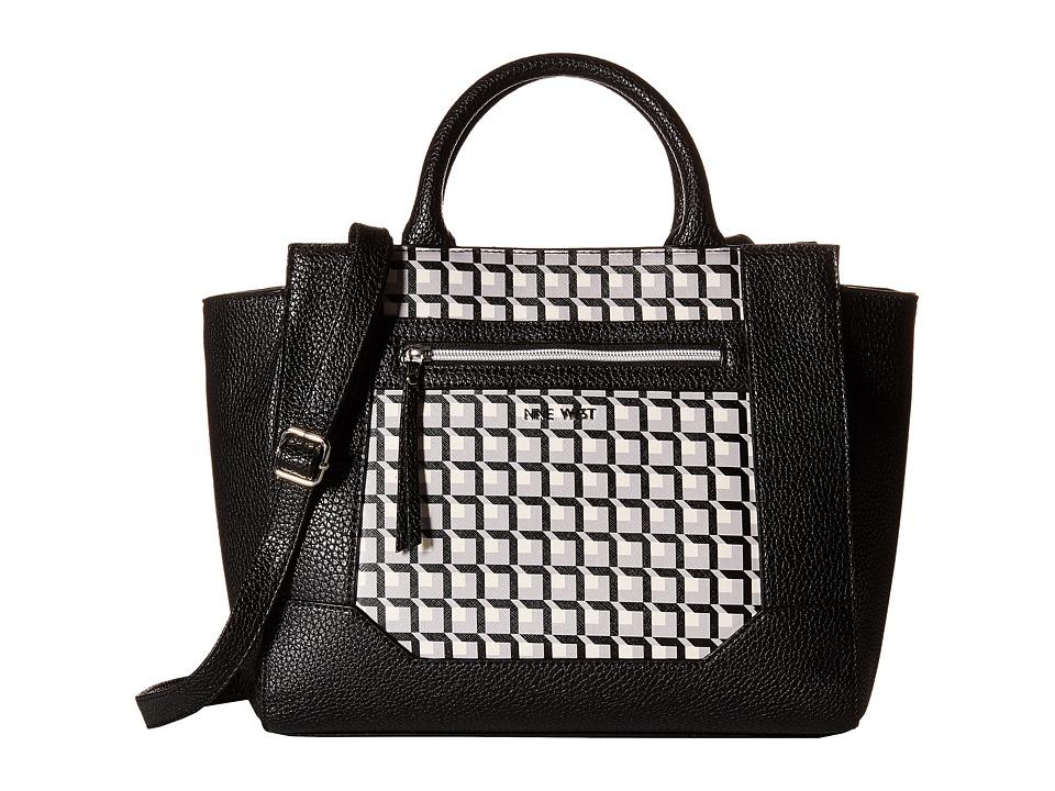 Nine West - Gleam Team Tote (Black) Tote Handbags