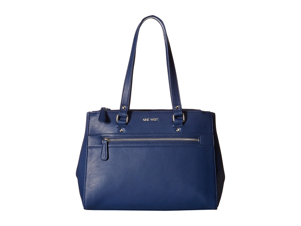 Nine West - Seeing Double Satchel (India Ink) Satchel Handbags