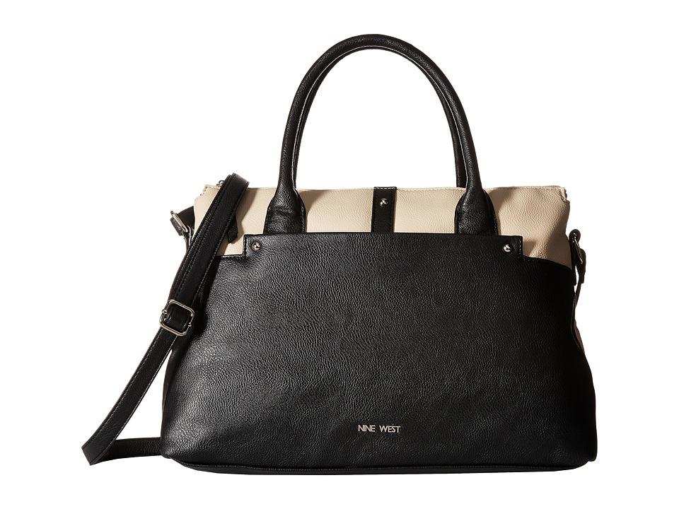 Nine West - Pockets A Plenty Convertible Satchel (Toasted Oat) Satchel Handbags