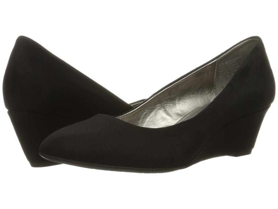 Bandolino - Franci (Black Maxi Suede) Women's Shoes