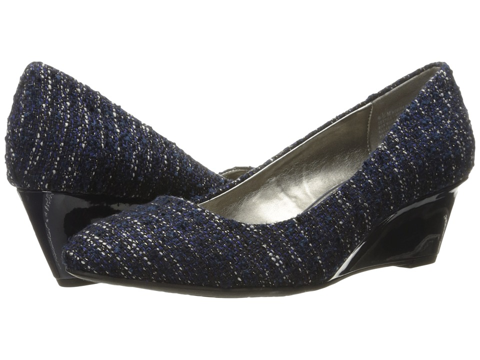 Bandolino Franci (Navy Tweed/Gros Grain) Women