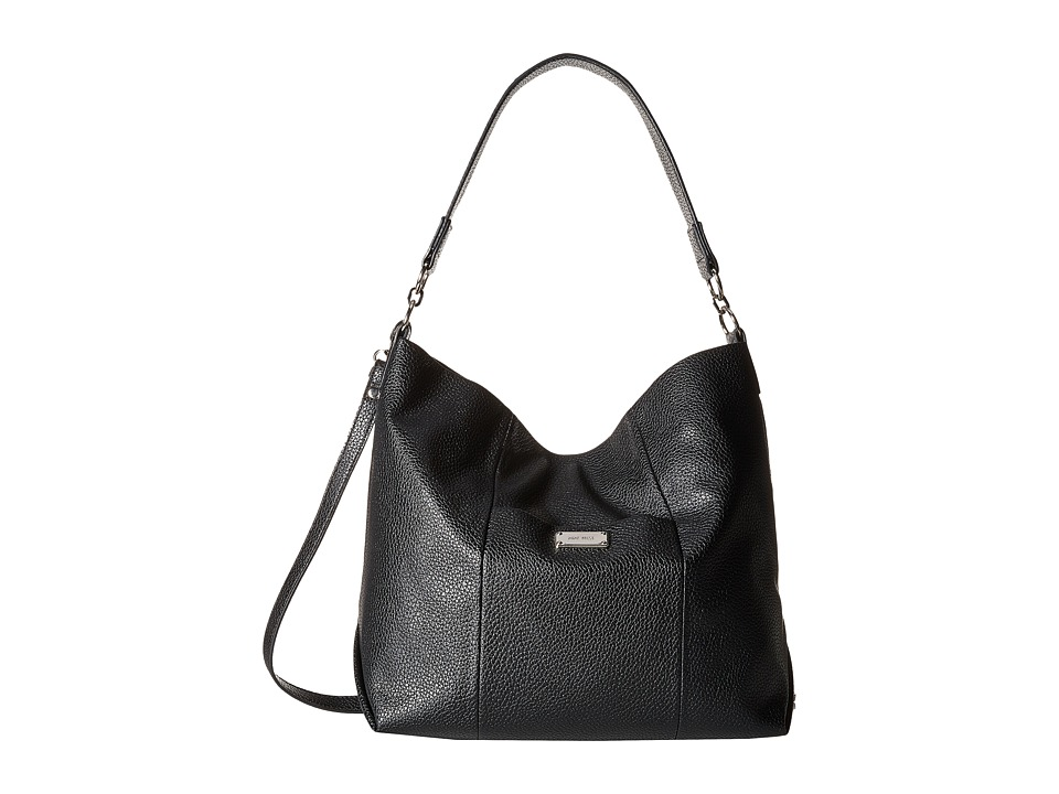Nine West - Slouchy Hobo (Black) Hobo Handbags