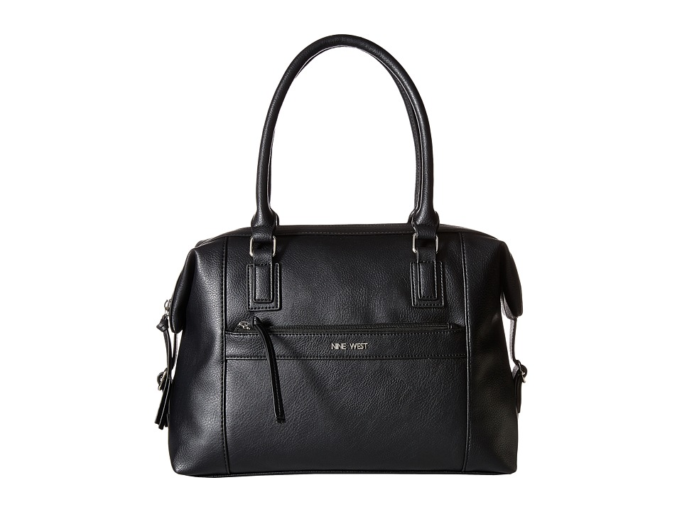 Nine West - Secret Zip Duffel (Black) Duffel Bags