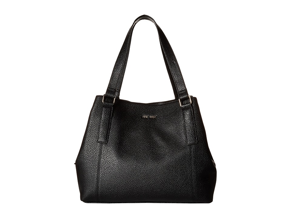 Nine West - Trap Time Four Poster (Black) Handbags