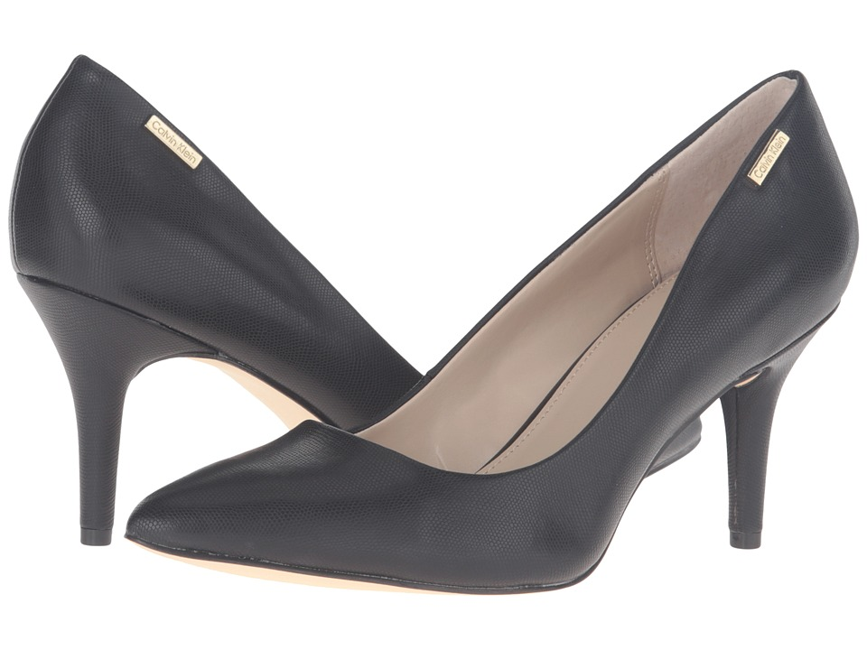 Calvin Klein - Kimberly (Black Synthetic) Women's Shoes