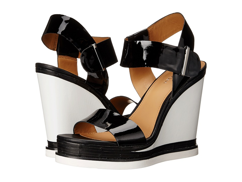 Calvin Klein - Padrina (Black Patent) Women's Shoes