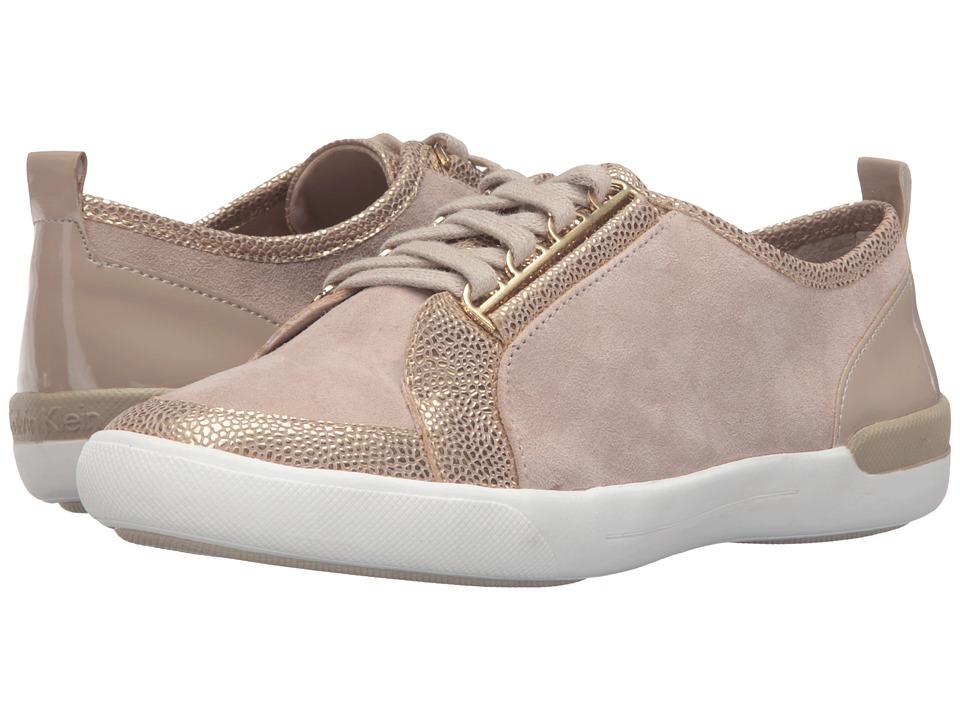 Calvin Klein - Tanita (Dark Gold/Cocoon Leather/Suede) Women's Shoes
