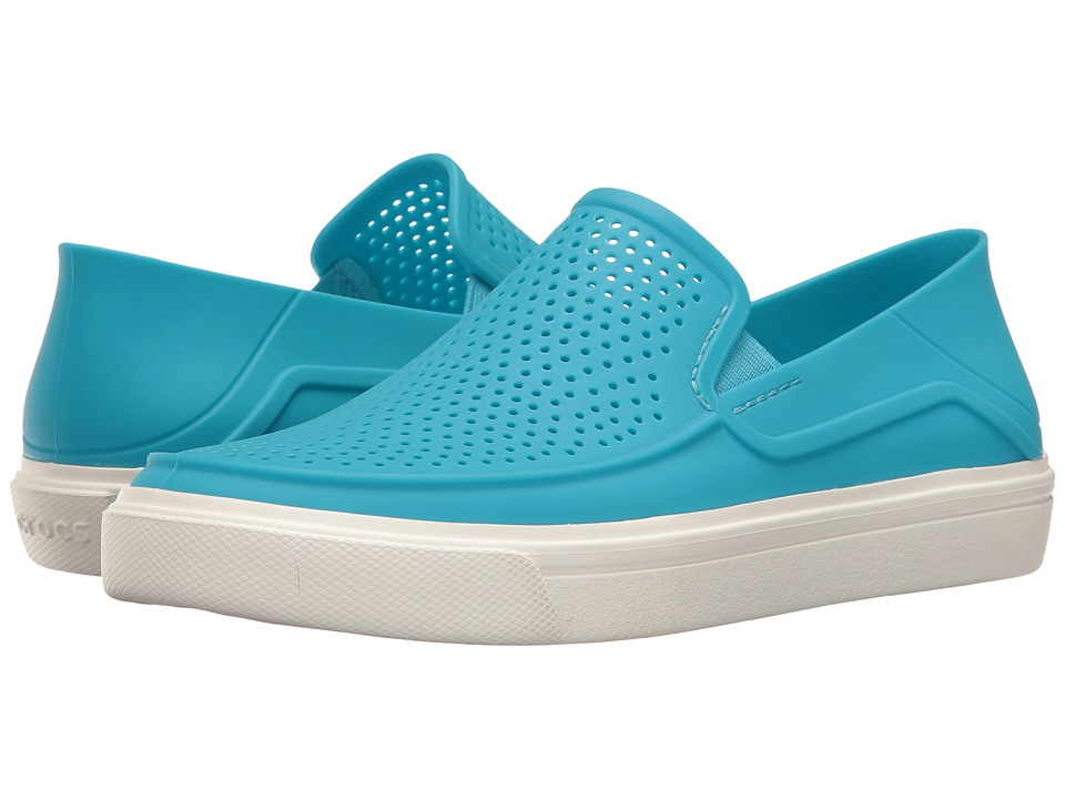 Crocs - CitiLane Roka Slip-On (Electric Blue) Women's Slip on Shoes