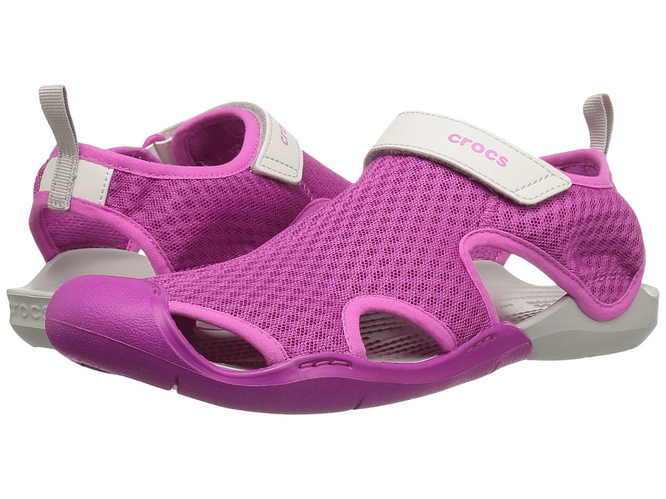 Crocs - Swiftwater Mesh Sandal (Vibrant Violet) Women's Sandals