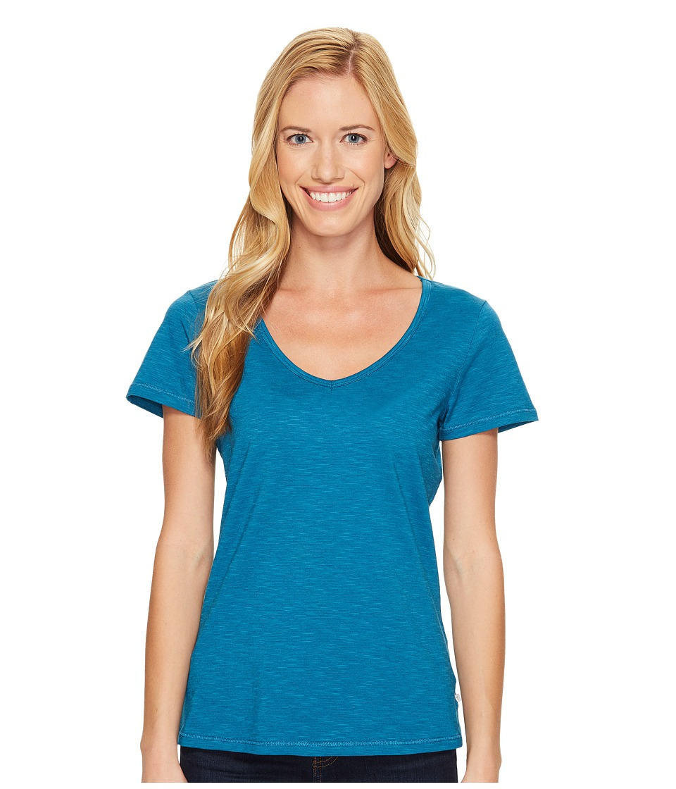 Toad&Co - Marley S/S Tee (Seaport) Women's Short Sleeve Pullover