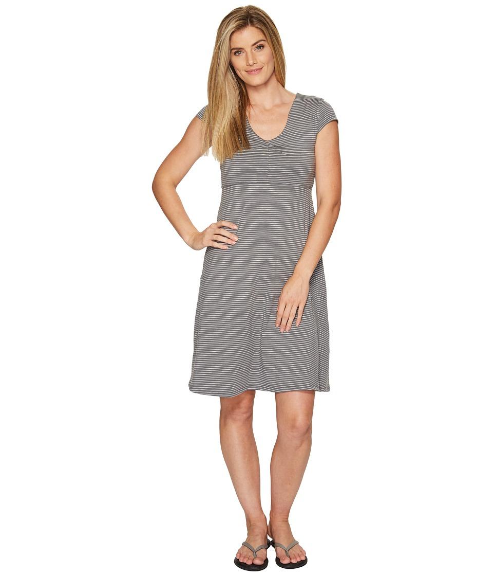 Toad&Co - Rosemarie Dress (Smoke Lean Stripe) Women's Dress