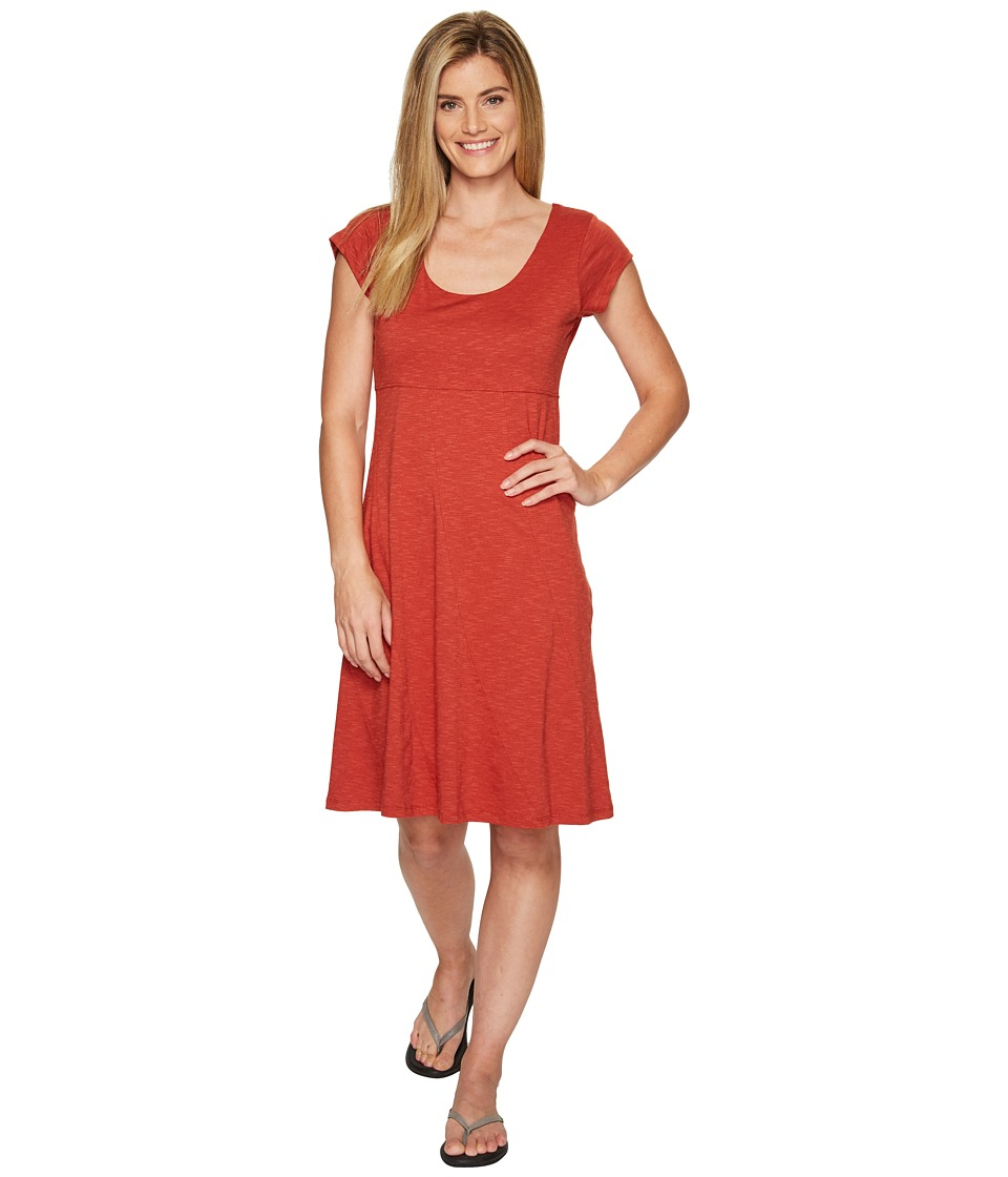 Toad&Co - Nena Dress (Red Clay) Women's Dress