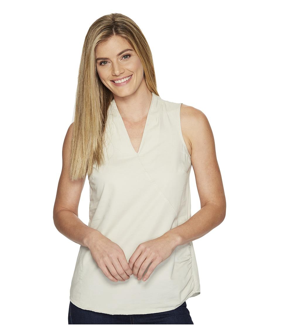 Toad&Co - Wayfarer Sleeveless Shirt (Pelican) Women's Sleeveless