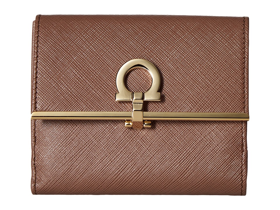 Salvatore Ferragamo - 224639 (New Moka) Wallet