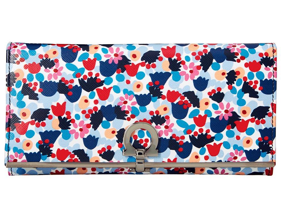 Salvatore Ferragamo - 22C495 (Camp/Medie Multicolor) Wallet Handbags