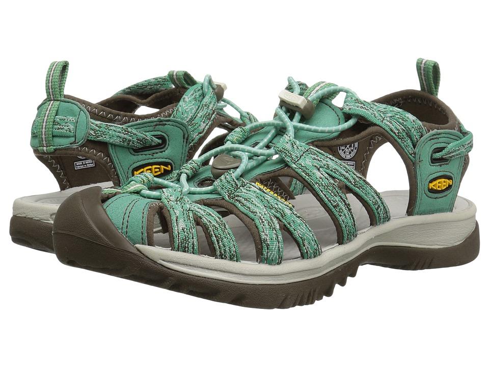 Keen - Whisper (Malachite/Silver Birch) Women's Sandals