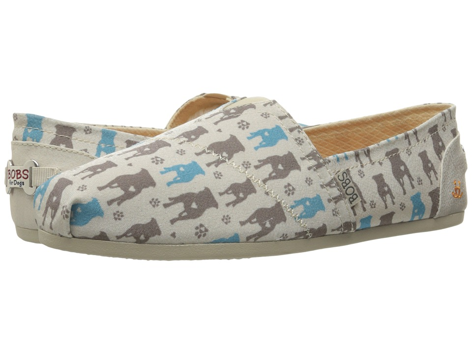 BOBS from SKECHERS - Bobs Plush - Gentle Giant (Natural) Women's Slip on Shoes
