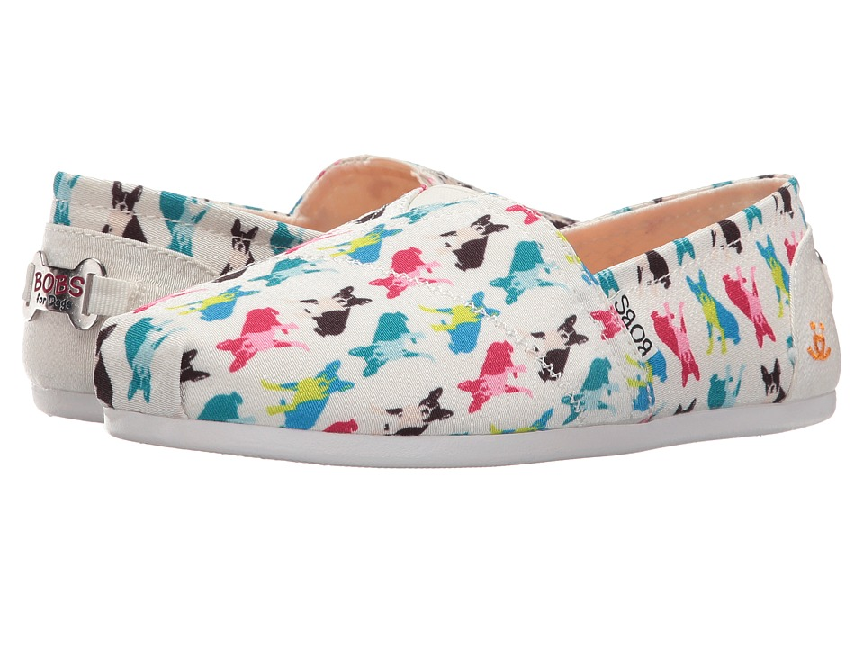 BOBS from SKECHERS Bobs Plush Double Vision (White) Women
