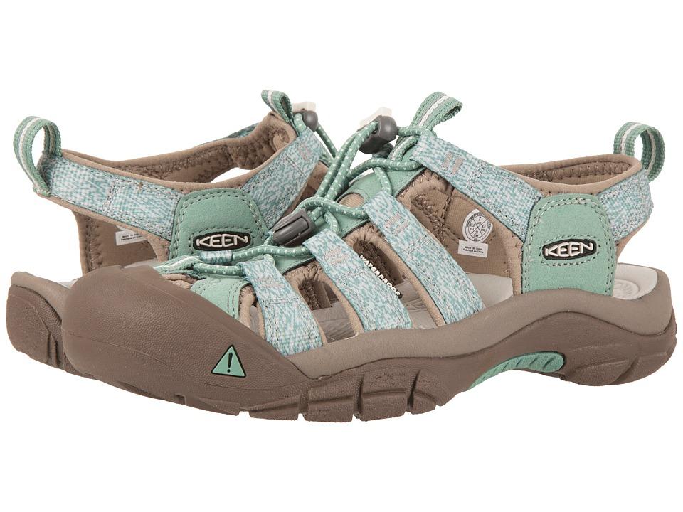 Keen - Newport H2 (Malachite/Silver Branch) Women's Shoes