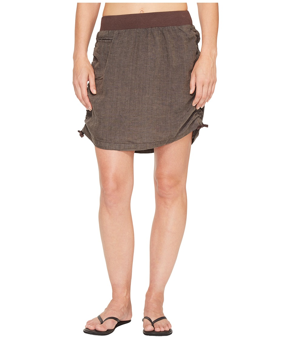 Toad&Co - Lina Adjustable Skirt (Falcon Brown) Women's Skirt
