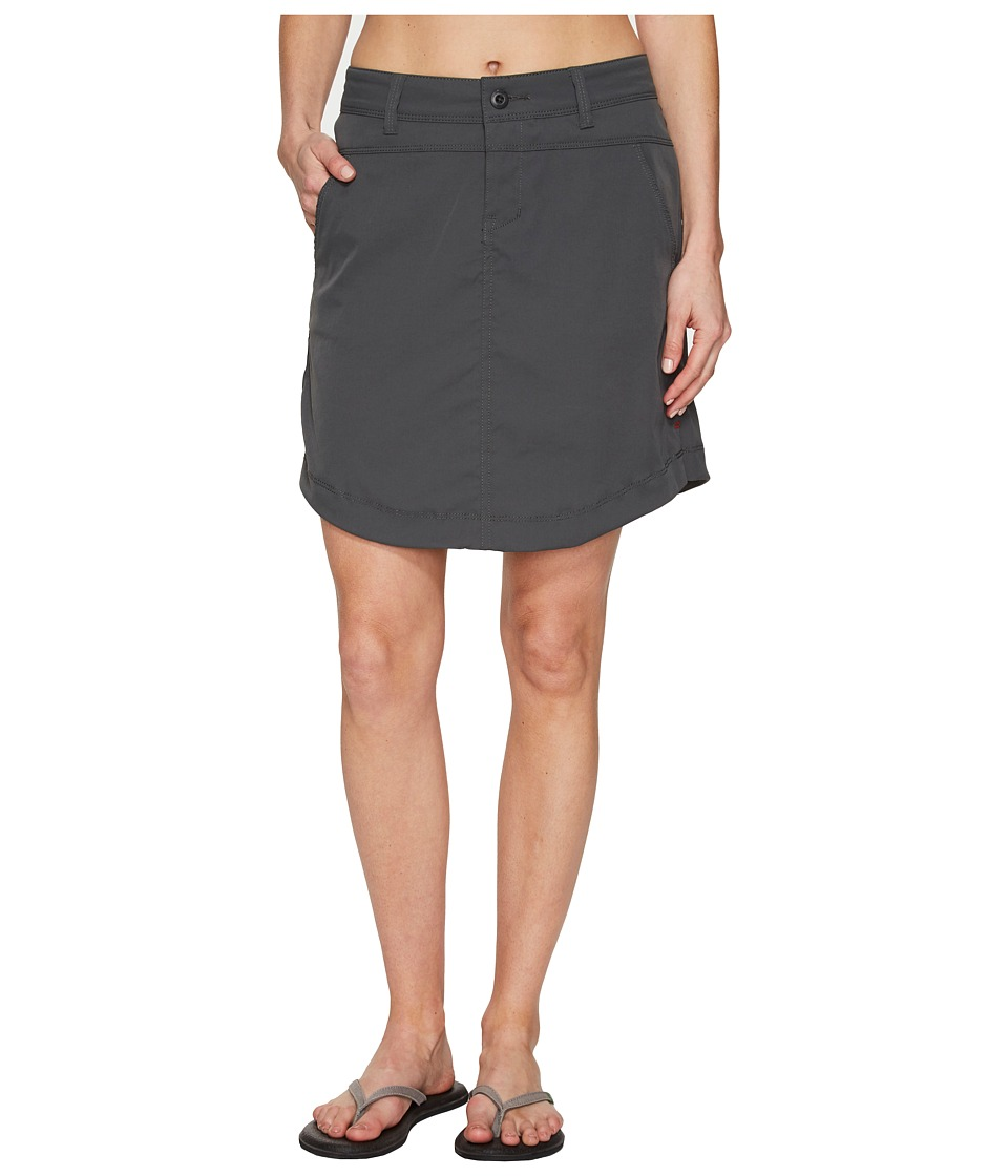 Toad&Co Metrolite Skirt (Dark Graphite) Women