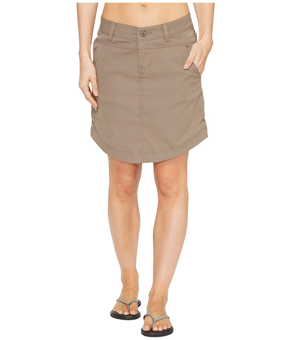 Toad&Co Metrolite Skirt (Falcon Brown) Women