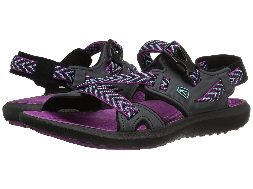 Keen - Maupin (Magnet/Purple Wine) Women's Shoes