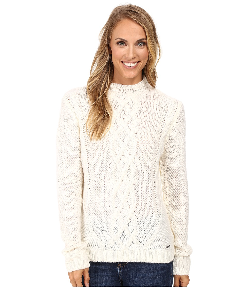 U.S. POLO ASSN. - Funnel Neck Sweater (Marshmallow) Women's Sweater