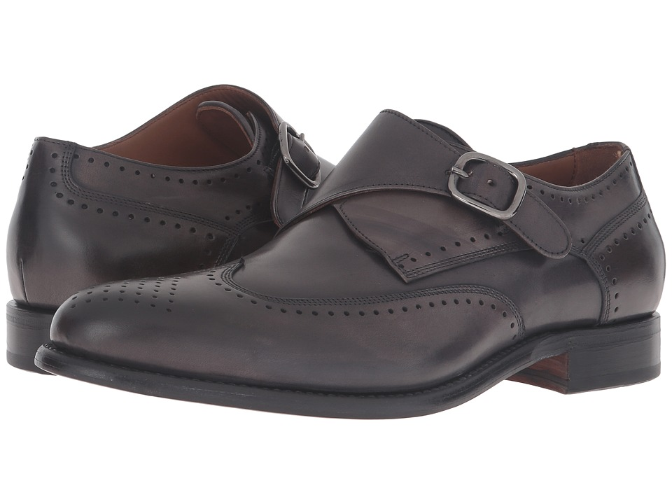 Bruno Magli Adalardo (Dark Grey Crust Leather) Men