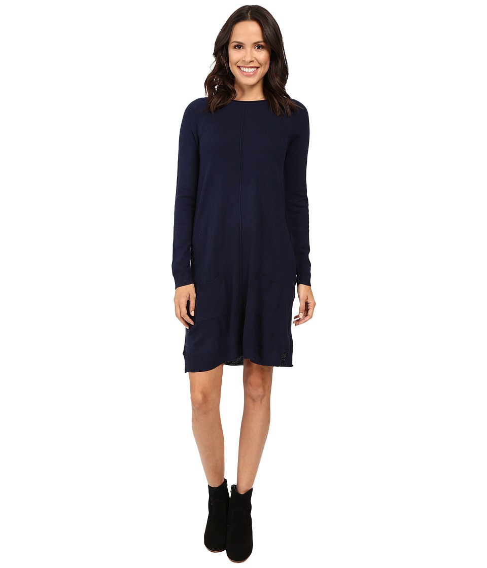 U.S. POLO ASSN. - Pocket Sweater Dress (Tribal Navy) Women's Dress
